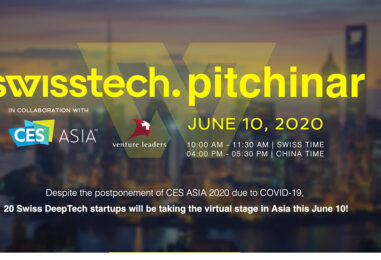 CES China: Virtual Pitching Competition With 20 Swiss Startups