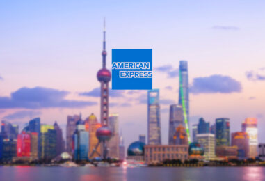American Express Granted Clearing License for China's US$ 27 Trillion Market