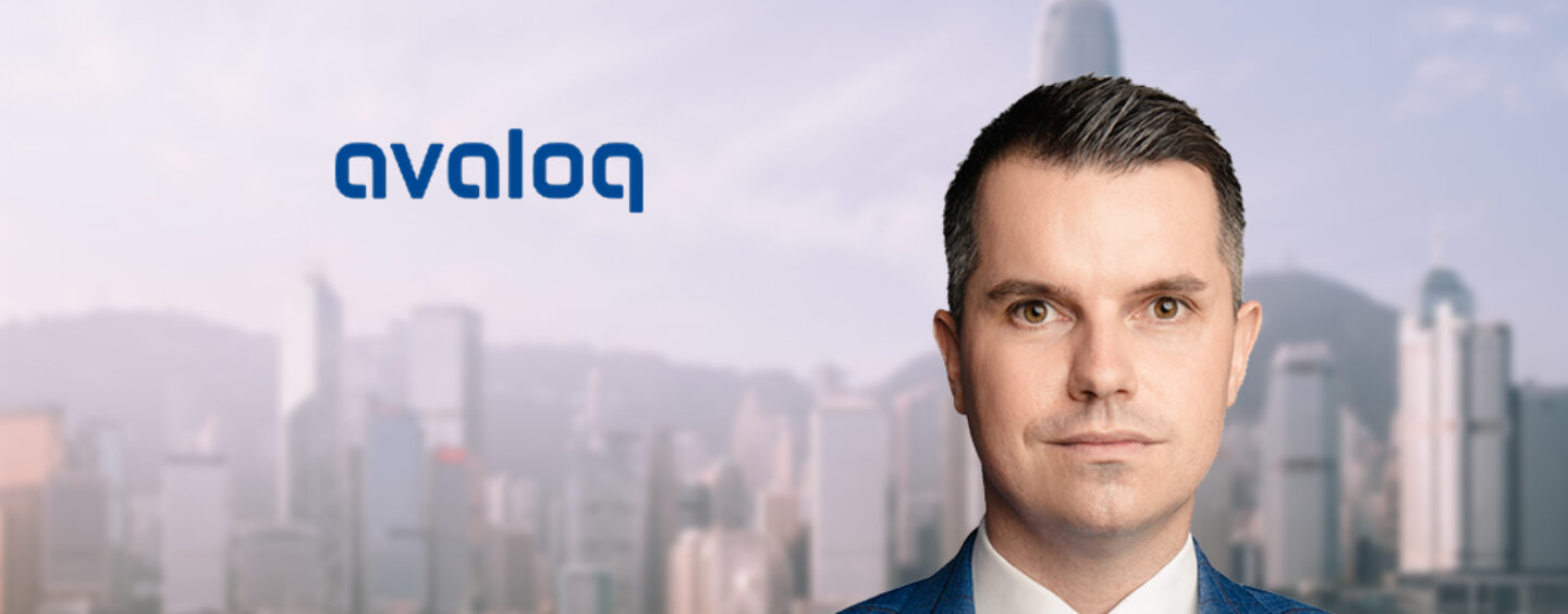 Avaloq Hires in Hong Kong to Strengthen Its Greater China Footprint