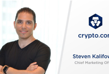 Crypto.com Appoints Steven Kalifowitz as new Chief Marketing Officer