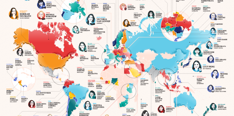 The Top 10 Female Founders: 50% are APAC Based