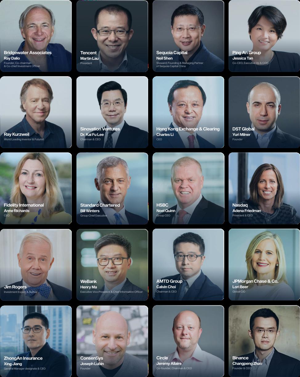 Hong Kong fintech week global leaders