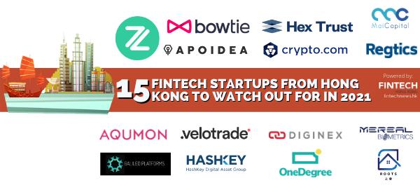 top fintech startup HK 2021