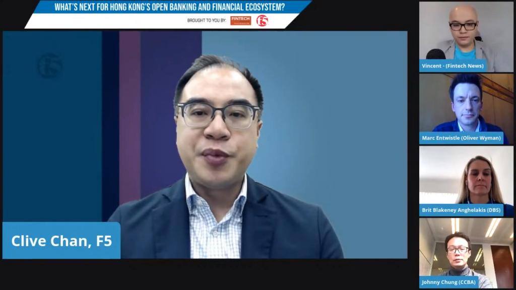 Clive Chan, manager of solutions engineering for Hong Kong and Macau at F5 Open Banking HongKong