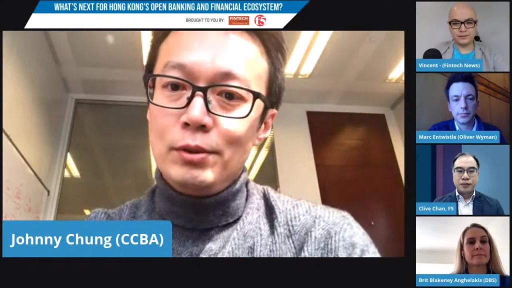 Johnny Chung Open banking Hong Kong