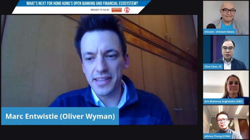 Marc Entwistle, principal at Oliver Wyman Digital Open Banking Hong Kong
