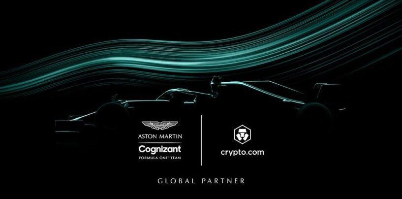 Crypto.com Inks Deal With Aston Martin Formula 1 Team