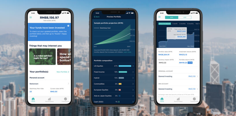 Robo Advisor StashAway Rolls Out Services in Hong Kong