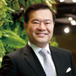 Dr. George Lam, Chairman of Cyberport.