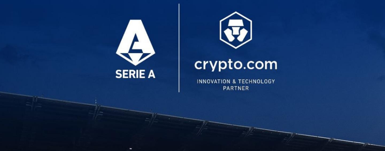Lega Serie A Chooses Crypto.com as Its Innovation and Tech Partner