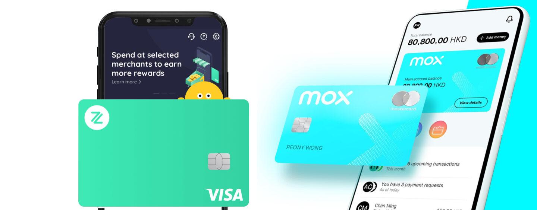ZA and Mox Leading Hong Kong's Virtual Banking Race